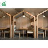 2019 Fashion Design Hôtel en bois des tabourets de bar / bar moderne de haute résistance chaises avec siège en tissu