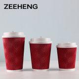 8oz 12oz 16oz de Beschikbare Hete Kop van de Rimpeling voor Koffie