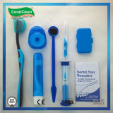 Orthodontischer Installationssatz in der transparenten Plastikflasche