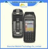 Terminal mobile tenu dans la main de position d'Eft d'écran tactile, scanner de code barres, WiFi, IDENTIFICATION RF, empreinte digitale, position d'imprimante