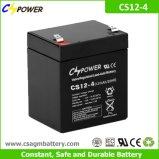 Batteria profonda del AGM del ciclo di Cspower 12V 4ah per l'UPS, giocattolo elettronico