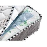 Colchón natural de la lavanda del látex con el resorte de Bonnell
