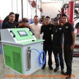 Motor a gasolina com máquina de limpeza do sistema de injetor de combustível