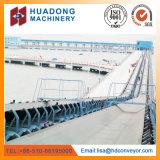Transportador de materia prima para la gran planta de acero