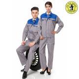 Arbeits-Uniform-Kleidung-Tankstelle-Unisexarbeits-Abnützung-Auto-Selbstsystem-Stab-Uniform