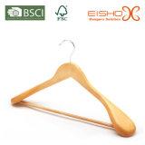 Estilo de Luxo Expandido Shoulder Solid Wooden Suit / Coat Hanger (MC041)