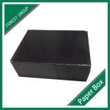 黒い光沢のあるカスタムShipingのカートンボックス