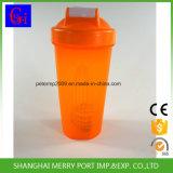 Agitatore arancione solido della bottiglia di colore/buona bottiglia dell'agitatore di prezzi per la polvere di nutrizione che agita o che si mescola
