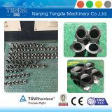 Tornillo y barril modificados para requisitos particulares para el estirador de tornillo gemelo