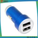 金属の安全ハンマーCe/RoHSの二重USBの充電器3.1A車の充電器