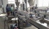 플라스틱 폴리탄산염 펠릿 수평한 물 반지 밀어남 기계