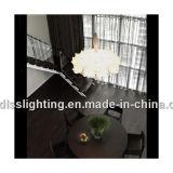 Lâmpada de lâmpada de lâmpada interior em seda chinesa em seda branca com iluminação de iluminação com certificado Ce