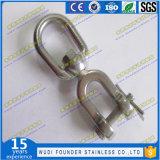 De Ring van het Hijstoestel van de Wartel van het Oog SS304 of SS316 van het roestvrij staal en van de Kaak