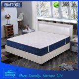Matelas 26cm de chambre à coucher d'OEM Comprerssed élevés avec la couche Pocket Relaxing de mousse d'onde de ressort et de massage