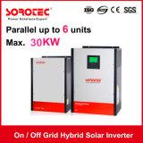 invertitore solare ibrido 2kVA 24V di griglia inserita/disinserita con il regolatore solare della carica di 80A MPPT