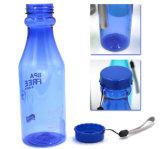 Garrafa de água para bebidas plástico OEM com a corda para a promoção