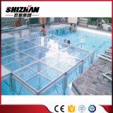 Быстро установите стекло высоты регулируемое/акриловый прозрачный этап плавательного бассеина