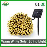 Iluminação de férias no exterior branco quente2835 100 LEDs SMD LED Luz String Solar