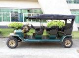 최상 앙티크 3 줄 고전적인 골프 차 5kw 전기 여행자 차량