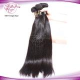 Weave leitoso indiano do cabelo humano do Virgin não processado de 100%