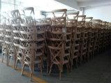 أسلوب [فرنش] صلبة [وأك ووود] قابل للتراكم صليب ظهر عرس مأدبة كرسي تثبيت ([رش-4001-5])
