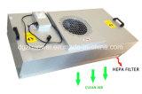 Quarto livre de poeira com UFF e unidades de filtro do ventilador