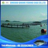 Cage flottante pour pisciculture avec service d'installation