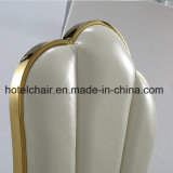 Самомоднейшая нержавеющая сталь золота обедая стул для столовой