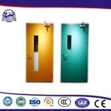 Eingebaute Schrauben-Löcher verstärkte Platten-feuerfeste Tür