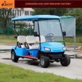 販売4のSeaterの熱い電気手段のゴルフコースおよびゴルフクラブのための電気ゴルフカート