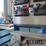 dobradeira hidráulica CNC para venda de 1 mm de espessura de chapa de metal de 40 mm Bender com sistema Delem dobradeira CNC completo