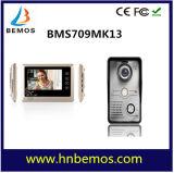 Vidéo de 7 pouces Door Phone sonnette système Intercom 1-3 de la caméra-moniteur