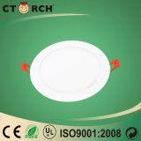 Ctorch Round LED Panel Light 3-24W com Ce Aprovação