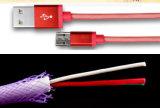 Rede de pesca trançada 1m Lightning&#160 da venda por atacado; Cabo de dados do USB