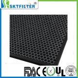 Adentro panal llenado carbón activo para el filtro de aire casero