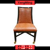 Retro 유럽 단단한 나무 의자 카지노 부지깽이 의자 Ym-Dk15