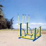 Bonito Strider doble aire equipos de gimnasia al aire libre