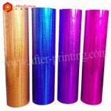 Pellicola olografica della laminazione termica di colore BOPP di lucentezza per il sacco di carta