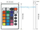 24 Schlüsselstreifen der Controller+12V Stromversorgungen-+5M 5050 RGB 300LEDs LED mit CER-UL