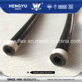 Mangueira hidráulica trançada 100r7r8/En855 R7r8 do SAE da fibra de nylon Thermoplastic de alta pressão da câmara de ar