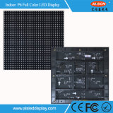 LED fábrica de Shenzhen cubierta SMD3528 P6 Digital Display Sign