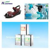 Matières premières de PU /polyuréthane pour chaussures sandales un seul /Mesdames-5005/B-5002