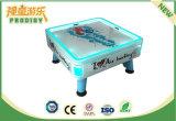 El cuadrado de fichas embroma la máquina de juego de hockey del aire para 4 jugadores