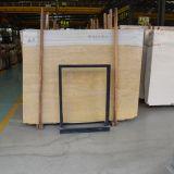 壁および床の装飾のための卸し売り低価格の金大理石の平板かタイル
