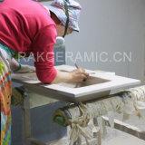 Bacino di ceramica di Featheradge del lavabo degli articoli del bacino sanitario del Governo (LINDA-90R)