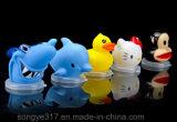 Espaço livre do animal de estimação bacia plástica descartável do suco de 500 Ml