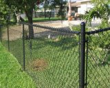 Декоративная загородка фермы звена цепи, панели загородки звена цепи скотин