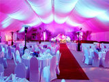Tende di lusso della festa nuziale da vendere la festa bianca del tetto del PVC