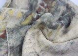 冬のLaidiesの方法Accesssoryのためのウールによって編まれるスカーフAzoの自由に印刷