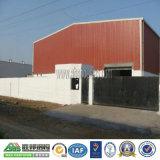 Vertiente modular del edificio del taller de la casa estructural de acero industrial